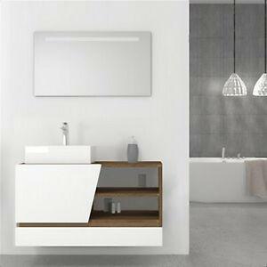 Specchio Bagno Led 100.Specchio Bagno Nuovo 100 Cm X50 Cm Con Illuminazione A Led