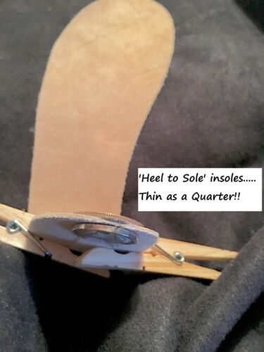 INSOLES FOR KIDS /& YOUTH 100/% stops ODOR The ONLY Real Suede Leather insole