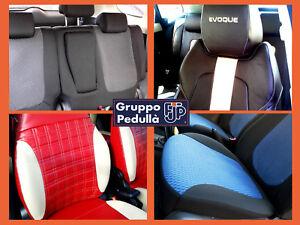 Coprisedili AUTO PER FIAT SEDICI dal 06 5-Sedili Grigio Auto Coprisedili rivestimenti Misura