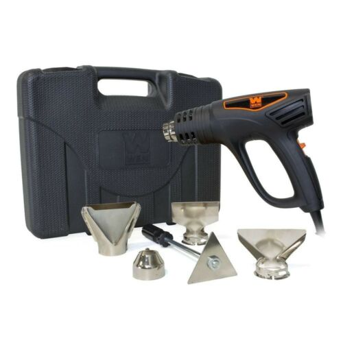 Heat Gun Kit 1,500-Watt Dual-Temperature Ideal for Paint,Wallpaper removal