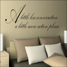 LARGE COLDPLAY CHRIS MARTIN LYRICS I WILL FIX YOU WALL STICKER TRANSFER