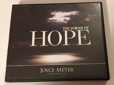 Joyce Meyer The Power of Hope Being Hopeful 4 Cd Set Christian