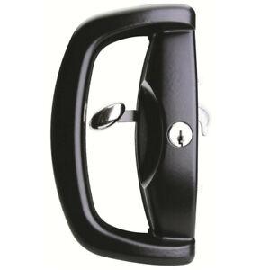 Whitco  Sliding Glass  Door Lock Blaxland W500217  Black