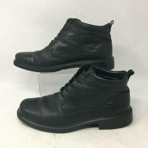 Ecco Lace Up Oxford Ankle Boots Dress Lace Up Mens
