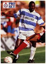 Dennis Bailey Queens Park Rangers #324 Pro Set Football 1991-2 Trade Card (C364)