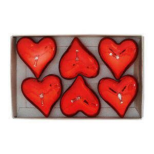 Set-of-6-Red-Heart-Shaped-Tea-Light-Candles-by-GreenGate