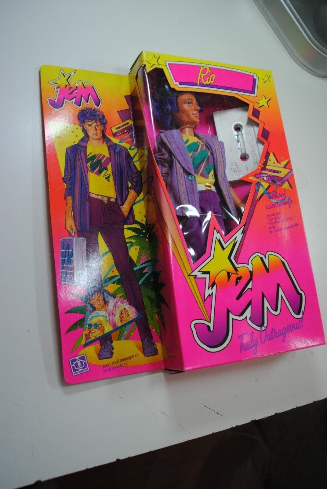 HASBRO 80'S JEM AND THE HOLOGRAMS  '    RIO    NRFB 0d6c31
