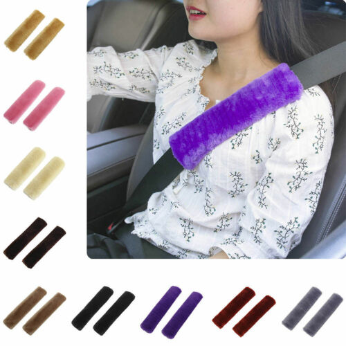 Cozy Car Seat Belt Pads Harness Safety Shoulder Strap Back Pack Cushion Covers