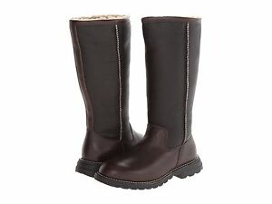 e96651643e0 Details about Women's Shoes UGG Brooks Tall 5490 Leather Boots Brown *New*