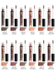 e9aa97cb0 Image is loading NYX-Professional-Makeup-Lip-Lingerie-Lipstick-NEW-NUDES-