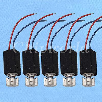 5x Mobile Phone Vibrating Motor 1.8V-5.0V Motor 5*12MM 5X12