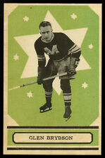 1933-34 V304B O-PEE-CHEE SERIES B~#64~GLEN BRYDSON~MONTREAL MAROONS HOCKEY CARD