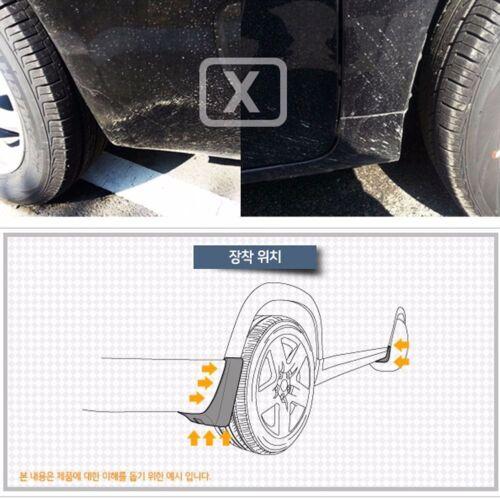 OEM Parts Mud Splash Guards Front+Rear 4P For GM Chevrolet Sonic 4dr Sedan 2012