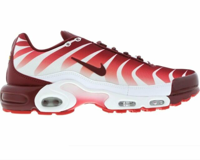 Nike Air Max Plus Tuned 1 TN After The Bite White Red Trainers AQ0237 101