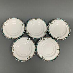 Studio-Nova-Adirondack-Y2201-Southwest-Saucer-Plates-Lot-of-5
