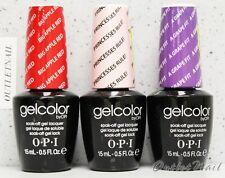 OPI GelColor Kit - SET OF 3 Any Soak Off Gel Nail Colour UV Led Lot  Ship in 24h
