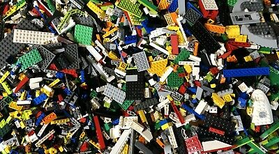 Lego Yellow 200 Piece Lot Brick Plate Tile Slope Star Wars City Classic