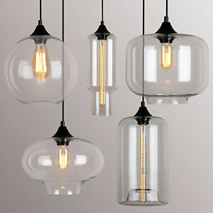 Image Is Loading Vintage Classic DIY Ceiling Lamp Light Glass Multi