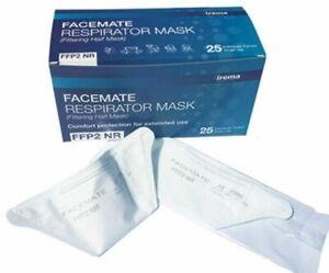 irema FFP2 Maske Rautenform Atemschutz Mundschutz medizinisch zertifiziert