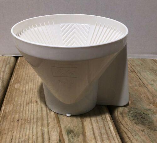 Part Melitta Gevalia 4 CUP Coffee Maker BCM4 White Filter Brew Basket