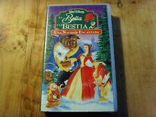 Usado Película LA BELLA Y LA BESTIA 2  de Walt Disney -VHS - Item For Collectors