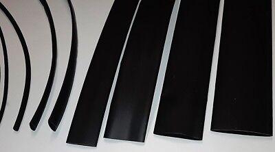 Schrumpfschlauch OLEFIN 2:1  schwarz  Ø 1,2 mm