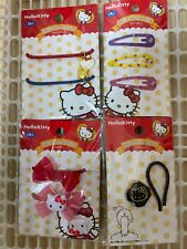 DAISO Very Cute JAPAN Brand NEW HELLO KITTY SANRIO 4 types of Hair Accessories