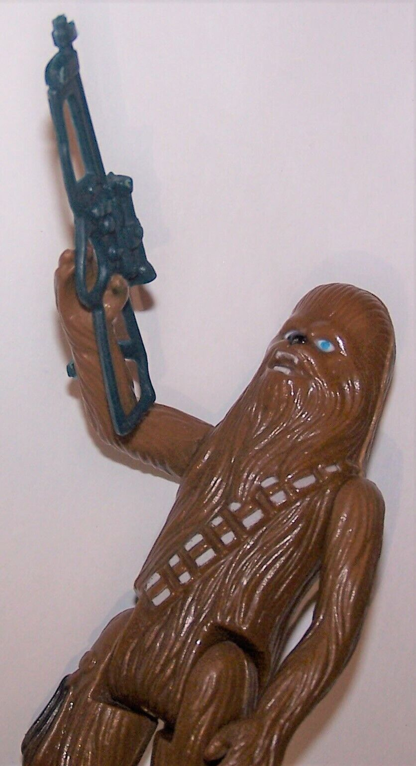 Vintage 1977 Star Wars New Hope Chewbacca Complete Action Figure by Kenner