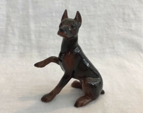 Hagen Renaker Pottery Doberman Dog