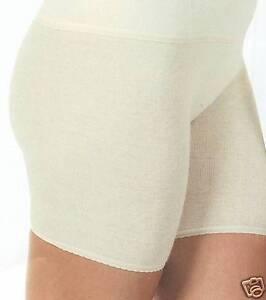 online store 937c2 85d0f Details zu Angora Damen Unterwäsche Schlüpfer Unterhose mit Bein  Wärmewäsche 50% Angora