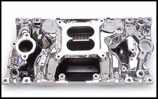 Edelbrock 75014 EnduraShine RPM Air Gap Intake Manifold For SBC Chevy # 75014