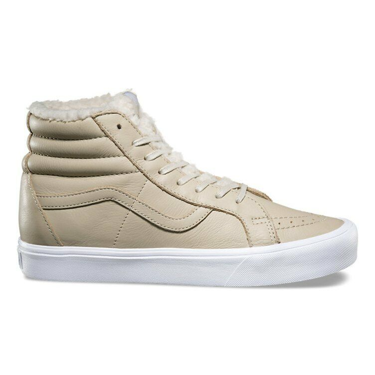 Vans SK8 Hi Lite Reissue Sherpa Cement True White Men's shoes Size 10.5