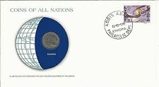 Numisbrief  Ethiopia 1990  Coins off all Nations      (NB-Box 1)