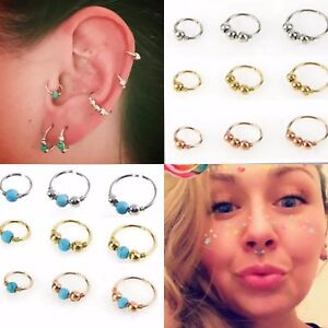 Surgical-Steel-Small-Thin-Ring-Hoop-Nose-Lip-Ear-Tragus-Helix-Piercing-Silver