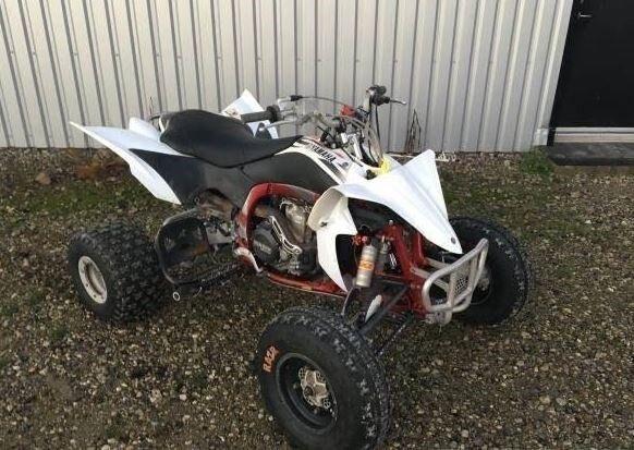 Yamaha 540 Quad, Hvid