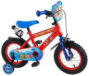 paw patrol fahrrad 12 zoll kinderfahrrad kinder rad jungen m dchen rot 61250ch ebay. Black Bedroom Furniture Sets. Home Design Ideas