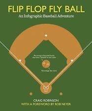Flip Flop Fly Ball: An Infographic Baseball Adventure-ExLibrary