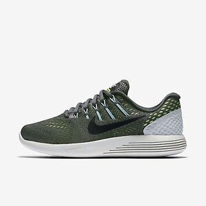 Wmns Nike Lunarglide 8 Sz 5-10 Dark Grey/Ghost Green 843726-013 FREE SHIPPING