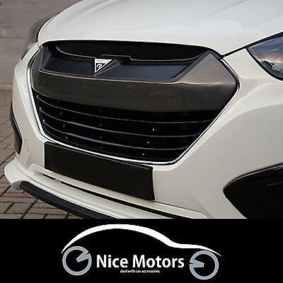 Roadruns Radiator Hood Grille Painted Parts For Hyundai Tucson ix35 2010 2014