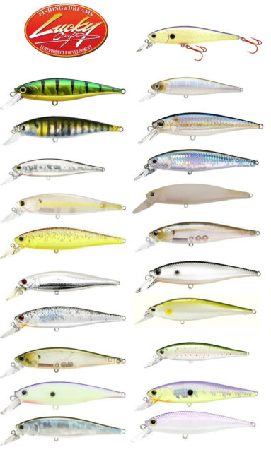 "LUCKY CRAFT POINTER 100 SUSPENDING JERKBAIT 4"" select colors N-Z"