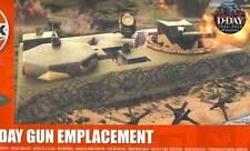 Airfix D-Day Gun Emplacement Geschützstellung Küste Bunker Modell-Bausatz 1:72