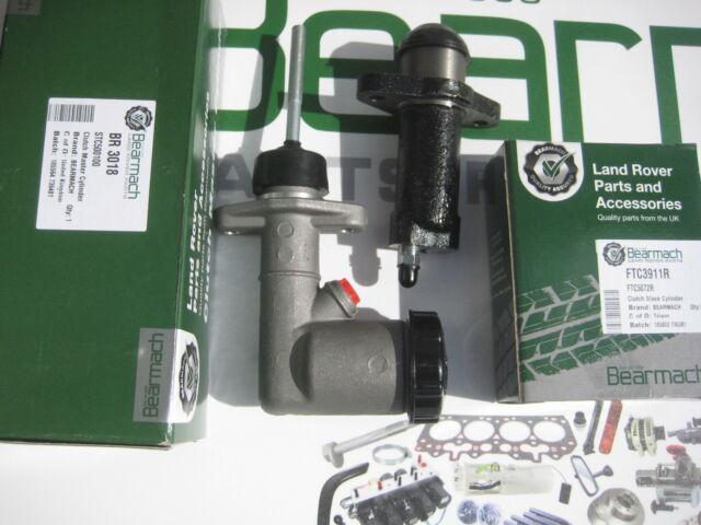 land rover defender 90 110 300tdi clutch master & slave cylinder