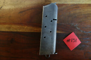 Colt-1911-Magazine-WWI-Type-Made-by-Colt-W-Lanyard-Loop-Good-Capacity-7