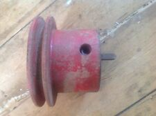 lister d pulley with a V drive. free UK postage