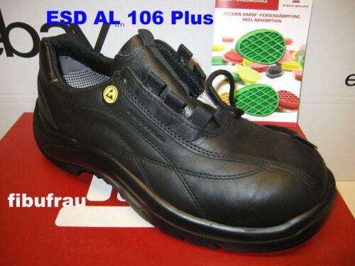 Steitz Secura 10097 Sicherheitsschuhe ESD AL 106 Plus S2 Unisex