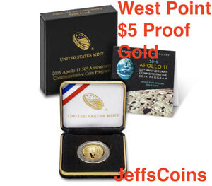 Tri-Fold And Holder Only No Coins 2019 Apollo 11 50th Anniversary Proof Set