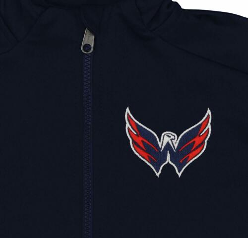 Outerstuff NHL Youth//Kids Washington Capitals Performance Full Zip Hoodie