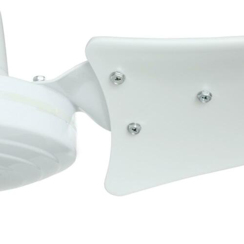 Hampton Bay  Industrial 60 in Indoor White Ceiling Fan with Wall Control