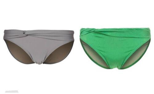 Z22-16 Beach Panties COSTA SMERALDA GREEN bikini bottoms