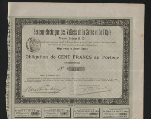 Secteur Electrique des Vallées de la Seine & Epte, M.BREANT (GASNY EURE) (A)